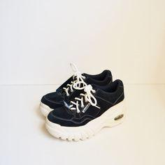 Vintage 90s Skechers Sneakers Platform by founditinatlanta on Etsy