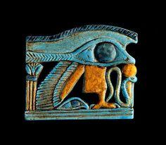 Wedjat-Eye Amulet. Ancient Egypt