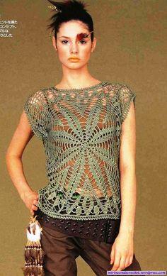 Otra prenda para superponer…. | Mi Rincon de Crochet