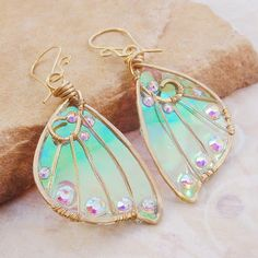 Butterfly wings earrings By Nbeads On Unique Jewelry - Community - Google+