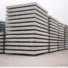 Betonplaten, 200 x 100 cm 65 p/st