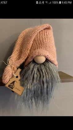 Christmas Gnome, Christmas Crafts, Scandinavian Gnomes, Cute Funny Animals, All Things Christmas, Gourds, Diy Art, Diy Ideas, Winter Hats