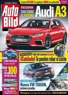 Revista #Autobild 499. #AudiA3. El sistema #keyless. Las 100 mejores #autoescuelas y mucho más.