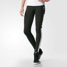 d40f1c4348 adidas - Graphic Tights Licras Para Mujer