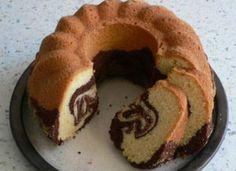 Ciambella marmorizzata vaniglia e cacao #dolce #ciambella #ricetta #ricettadelgiorno
