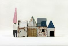 Ceramic houses - by mölle -- this is my concept. let's design an architecture from it.