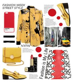 """Fashion is my Life"" by felicitysparks ❤ liked on Polyvore featuring Gucci, Victoria, Victoria Beckham, J.W. Anderson, Marc Jacobs, Case Scenario and Guerlain"