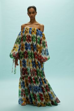 Reem Acra Spring 2020 Ready-to-Wear Fashion Show Collection: See the complete Reem Acra Spring 2020 Ready-to-Wear collection. Look 14 Fashion 2020, Runway Fashion, Fashion Show, Fashion Design, Style Fashion, Woman Fashion, African Maxi Dresses, African Print Fashion, The Dress