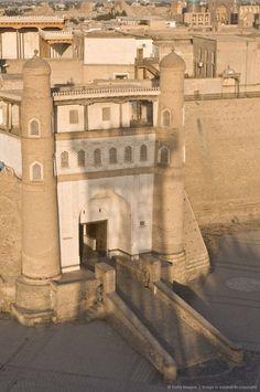 Ark Fortress - Bukhara, Uzbekistan. 5th century AD.