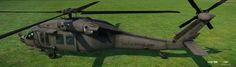 ArtStation - MH60 Blackhawk low polys, Dima Gait