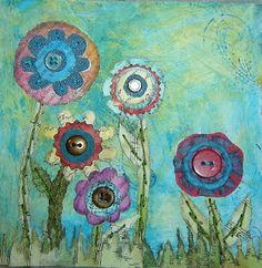 Art Tutorial - Flower Collage