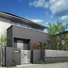 ルシアス シリーズ ウォール | YKK AP株式会社 Fence, Garage Doors, House Design, Architecture, Outdoor Decor, Home Decor, Gardens, Arquitetura, Decoration Home