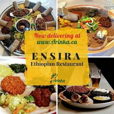 Now delivering authentic fusion cuisine courtesy of Get quality, mouth-wateringly delicious East African dishes delivered promptly, right to your doorstep! Ethiopian Restaurant, Foodies, African, Beef, Dishes, Kitchens, Plate, Ox, Tableware