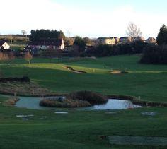 A view of the eighth hole par three at Crossgar