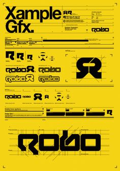 Creative Robo, Clothing, and Logo image ideas & inspiration on Designspiration Graphic Design Fonts, Graphic Design Inspiration, Branding Design, Logo Design, Lettering, Typography Fonts, Helmut Schmid, Cover Design, Designers Republic