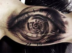 100 Inner Arm Tattoos For Men - Masculine Design Ideas Clock With Eye Tattoo On Inner Arm Of Man Bild Tattoos, New Tattoos, Body Art Tattoos, Sleeve Tattoos, Tatoos, Maori Tattoos, Forarm Tattoos, Arabic Tattoos, Ojo Tattoo