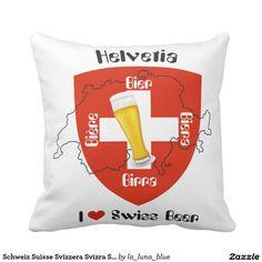 Schweiz Suisse Svizzera Svizra Switzerland Kissen
