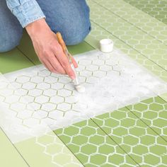 Another cool floor idea.