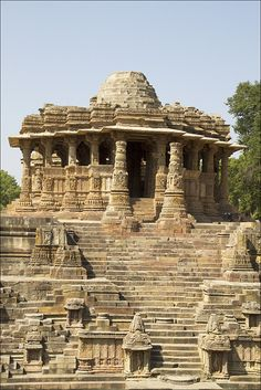 Sun temple, Modhera, Gujarat | Photographed by Lestans