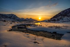 sunset in Grøtfjord | Flickr - Photo Sharing!