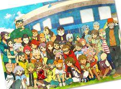inazuma eleven - Group picture