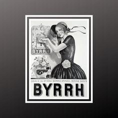 Art Deco French Colour Poster Amer Picon Aperitif 1930s Vintage Wine Bar