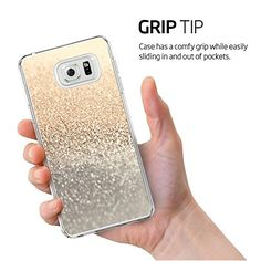 Galaxy Note 5 Case-Golden sand Protection Premium Clear Hard Back [Anti-Static · Cute CasesCute Phone 114 Best cases images | Cell phone accessories,