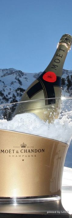 Never too cold in Michigan for Moët & Chandon