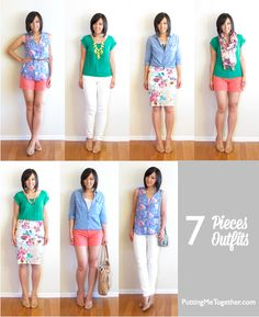 Putting Me Together: 7 Pieces 7 Outfits