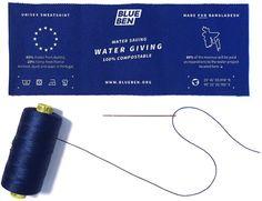 Blue Ben – der erste Sweater der Welt, der Wasser spart -