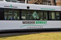 die neue Werder-Straßenbahn