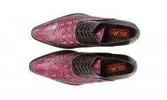 Mascolori snakeleather shoes, purple to the max!