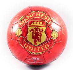 MANCHESTER UNITED SOCCER BALL (SIZE 5) by Manchester United. $19.90. Officially Licensed. Official Manchester United Soccer Ball (Size 5). Makes a great gift idea for all Manchester United fans. The soccer-ball ships deflated, and needs inflation upon arrival.
