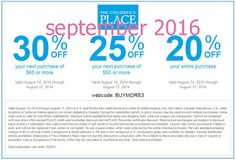 The Childrens Place coupons & The Childrens Place promo code inside The Coupons App. off at The Childrens Place, or online via promo code April Free Printable Coupons, Printable Cards, Free Printables, Dollar General Couponing, Coupons For Boyfriend, Grocery Coupons, Love Coupons, Extreme Couponing, Coupon Organization