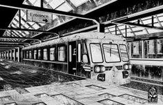 Metro Station by A-Evil-Sorcerer