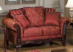 Chelsea Home Furniture Serta Tia Love Seat Base Upholstered in Momuntum Magenta -- Check out this great product.