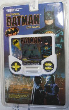 Batman Bin 9 BATMAN LCD Handheld Game by TIGER obv