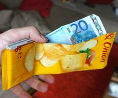 Chips Bag Wallet