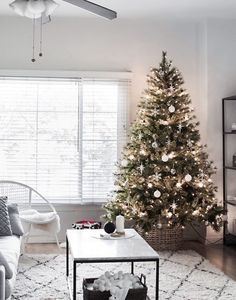 modern minimal christmas tree - Michaels Outdoor Christmas Decorations