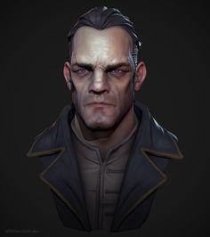 Dishonored Guard, Adam Fisher on ArtStation at https://www.artstation.com/artwork/L2A5