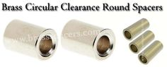 Owing to our well-developed manufacturing unit and immense knowledge, we are occupied in offering an utmost quality #BrassroundclearanceSpacers.Visit @ http://www.brassspacers.com/product/brass-clearance-spacers/brass-round-clearance-spacer/