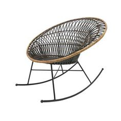 This beautiful HK-living Rattan Egg chair will look perfect in your interior! The bohemian Egg chair is made of rattan with metal base and is ideal for lounging all day long. Old Chairs, Eames Chairs, Metal Chairs, Ikea Chairs, Desk Chairs, Vintage Chairs, Rattan Egg Chair, Chair Cushions, Wicker