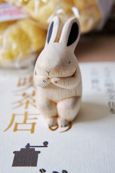 I, like this rabbit, plan many things...It almost looks like a netsuke.