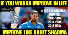 Rohit Sharma shines in ICC ODI Rankings as on January 24, 2016 | Cricket Trolls -  Funny Cricket Trolls, Memes and News