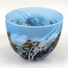 Glass bowl by Martin Andrews