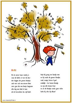 Poster Autumn Crafts, Autumn Art, Craft Activities, Preschool Crafts, Dutch Language, Educational Crafts, School Posters, Fall Projects, Yoga For Kids