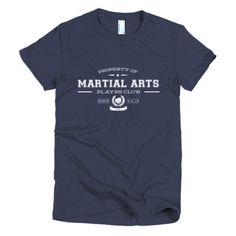 PLAYRS Club Women's Martial Arts T-Shirt – Light