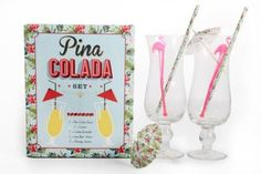 Pina Colada Cocktail Gift Set from TUSK homewares