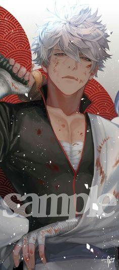 Gintama | Gintoki All Anime, Manga Anime, Anime Art, Fanarts Anime, Anime Characters, Character Design Animation, Character Art, Gintama, Gekkan Shoujo Nozaki Kun
