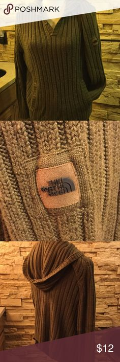 The North Face ladies sweater Super warm ladies hoody sweater The North Face Sweaters V-Necks